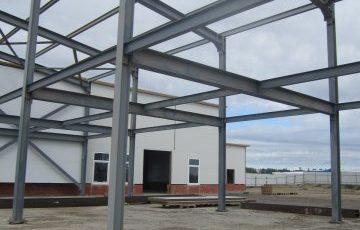 металлический каркас, модульное здание, быстровозводимые здания