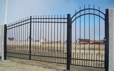 металлические ворота цена