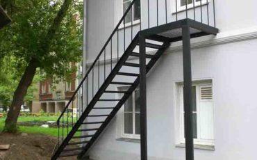 изготовление эвакуационной лестницы