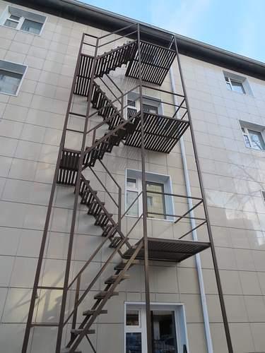 эвакуационные лестницы 3 типа