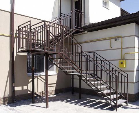 эвакуационные противопожарные лестницы