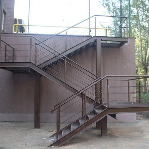 лестница эвакуационная пожарная
