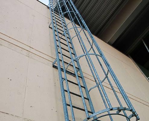 лестница пожарная вертикальная п1 2