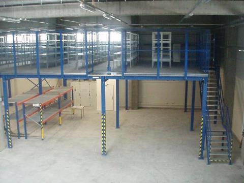 мезонин на складе