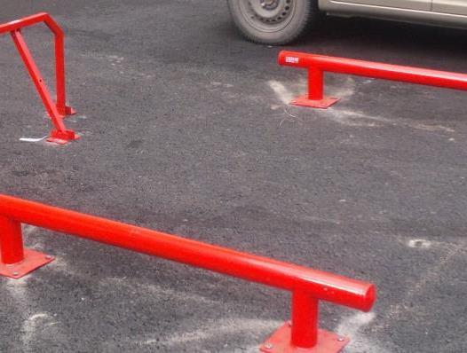 отбойники для парковки