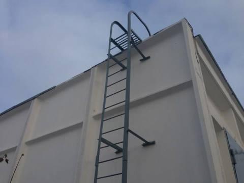 пожарная вертикальная лестница п1