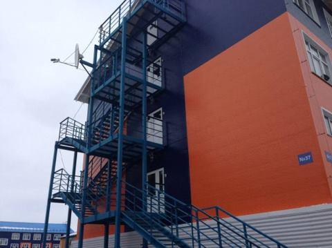 противопожарные лестницы на балконах