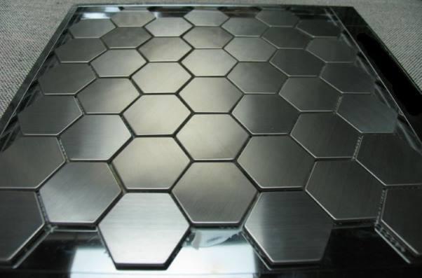 Стеновая панель из нержавеющей стали
