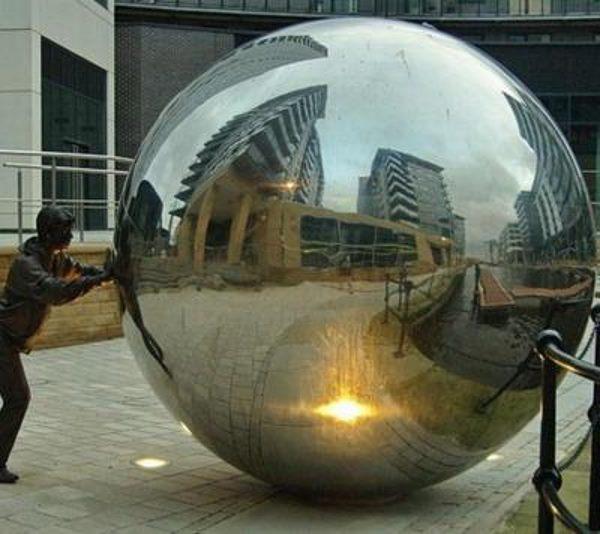 шар из нержавеющей стали
