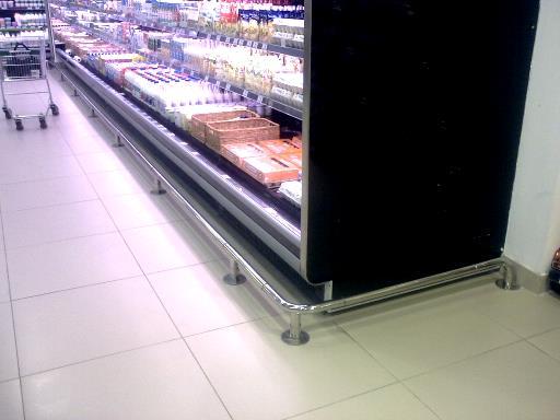 отбойник для супермаркетов