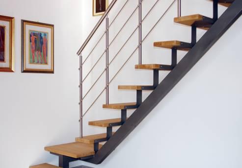 металлические лестницы на 2 этаж