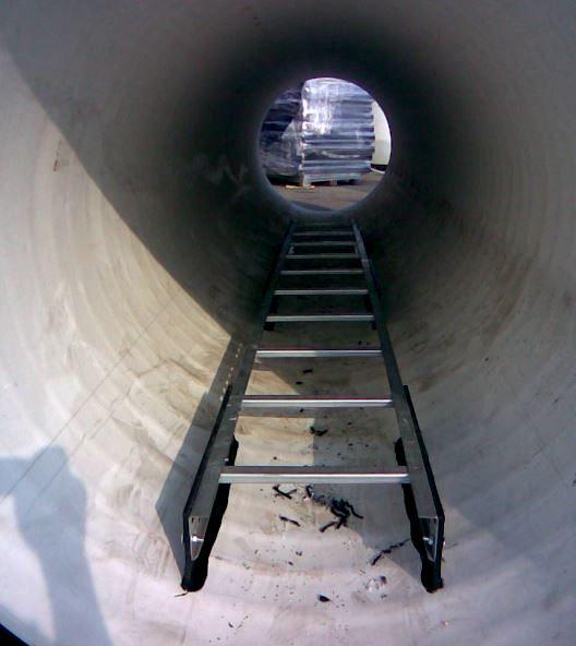Лестница в колодец